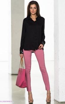 Повседневные образы с узкими брюками, джинсами фото (6)