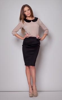 С чем носить черную юбку карандаш фото (12)