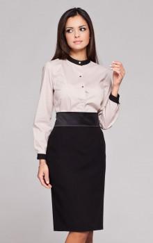 С чем носить черную юбку карандаш фото (2)