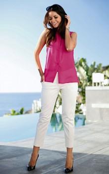 С чем носить узкие женские брюки фото (20)