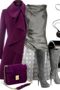 С чем носить замшевые сапоги на каблуке фото  (11)
