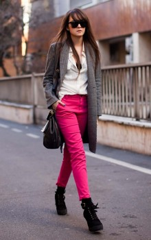 С какой обувью носить узкие брюки фото (5)