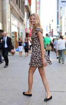 балетки и платья фото (11)