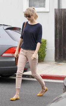 балетки с узкими брюками джинсами фото (24)