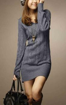 что носить с туникой зимой фото (1)