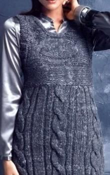 что носить с туникой зимой фото (16)