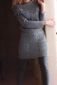 что носить с туникой зимой фото (17)