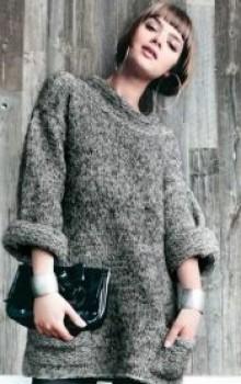что носить с туникой зимой фото (23)