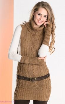 что носить с туникой зимой фото (9)
