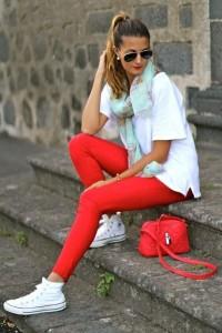 с чем носить белые кеды фото (13)