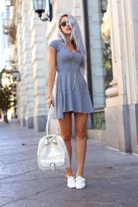 с чем носить белые кеды фото (28)