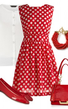с чем носить белые красные и черные балетки фото (38)