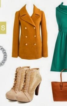 с чем носить бежевые и коричневые ботильоны (11)