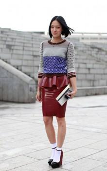 с чем носить юбку карандаш фото (25)
