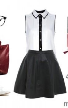 юбки и шорты с балетками фото (6)