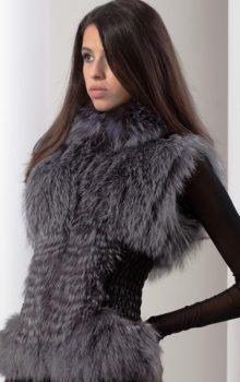 модные жилеты меховые фото (1)