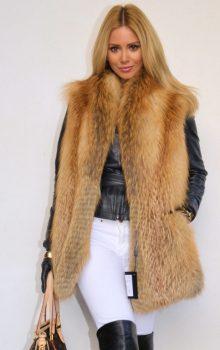 модные жилеты меховые фото (11)