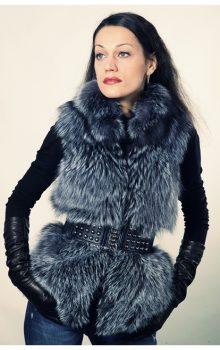 модные жилеты меховые фото (12)