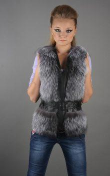 модные жилеты меховые фото (13)