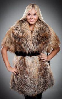модные жилеты меховые фото (18)