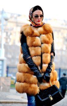модные жилеты меховые фото (2)