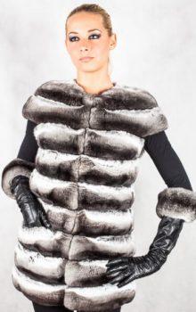 модные жилеты меховые фото (29)