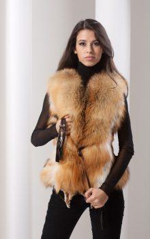 модные жилеты меховые фото (3)