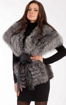 модные жилеты меховые фото (5)