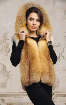 модные жилеты меховые фото (6)