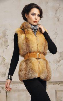 модные жилеты меховые фото (7)