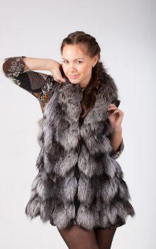 модные жилеты меховые фото (9)