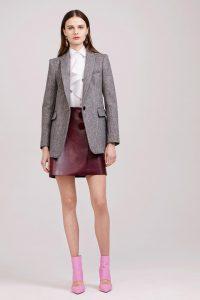 модные кожаные юбки 2017 фото (2)