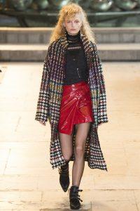 модные кожаные юбки 2017 фото (8)