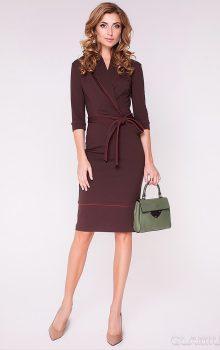 модные офисные платья 2017 фото (13)
