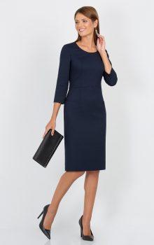 модные офисные платья 2017 фото (22)