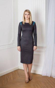 модные офисные платья 2017 фото (3)