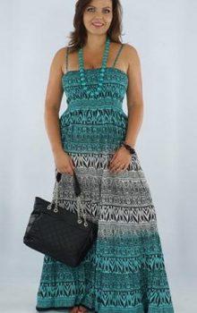 модные платья для полных 2017 фото (22)