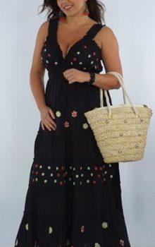 модные платья для полных 2017 фото (36)
