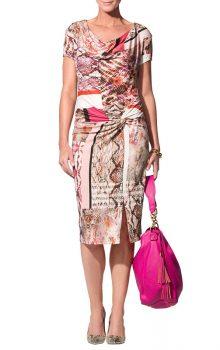 модные платья с абстактным рисунком 2017 фото (1)