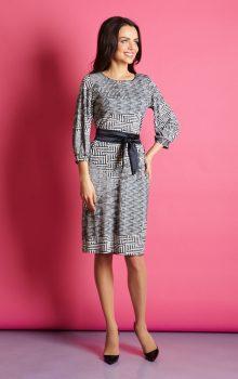 модные платья с абстактным рисунком 2017 фото (10)