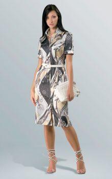 модные платья с абстактным рисунком 2017 фото (8)