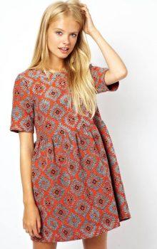 модные платья с абстактным рисунком 2017 фото (9)