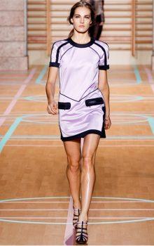 модные платья спортивного стиля 2017 фото (2)