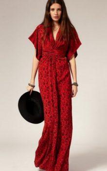 модные платья  в восточном стиле 2017 фото (14)