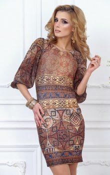 модные платья  в восточном стиле 2017 фото (29)
