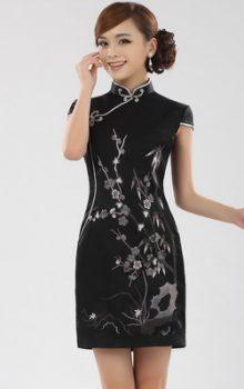 модные платья  в восточном стиле 2017 фото (3)