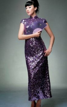 модные платья  в восточном стиле 2017 фото (4)