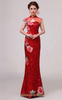 модные платья  в восточном стиле 2017 фото (5)
