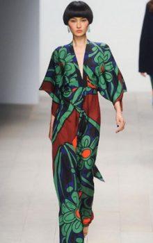 модные платья  в восточном стиле 2017 фото (9)