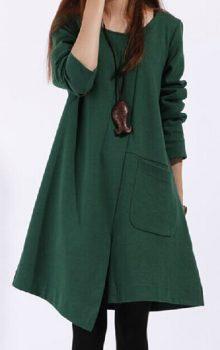 модные повседневные платья 2017 фото (16)
